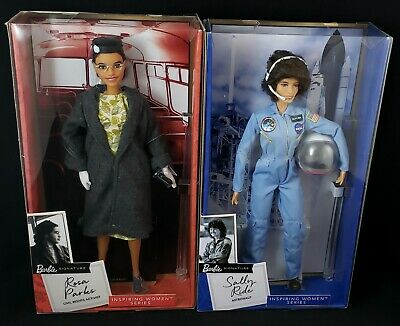 2019 Barbie Inspiring Women Series - Sally Ride and Rosa Parks Barbie Signature