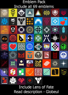 Destiny 2 Emblem - First to the Forge, System of Peace and ++ [PS4/PC/XBOX] Read