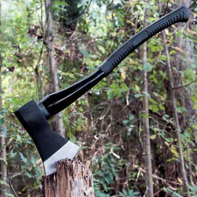 "28"" Black Legion Firefighter Long Tactical Camping Outdoor Axe Head & Handle"