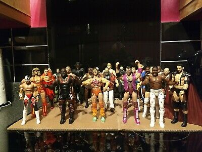 Wwe Mattel Elite Wrestling Figures - Choose From List Of 50 - Discount Avail .