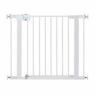 Safety 1st Easy Install Metal Baby Gate with Pressure Mount Pack of 1, White