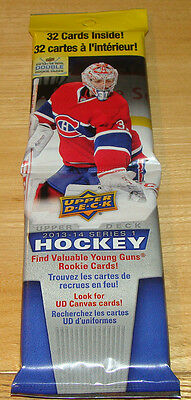 2013/14 Upper Deck UD Series 1 One Trading Cards NHL Hobby Hockey Fat Pack