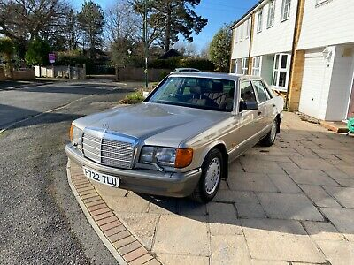 Mercedes W126 300SE Full service history, High spec, Owned for 30 years