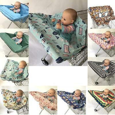 Foldable Baby Shopping Cart Cover Cushion Kids Trolley Seat Protection ENE