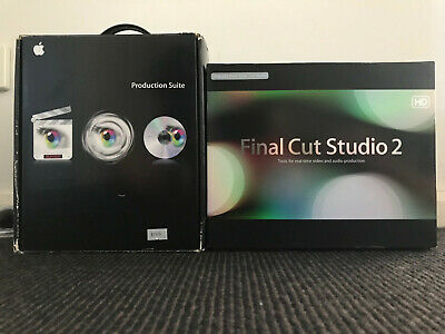 Apple Final Cut Studio 2