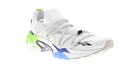 Reebok Trideca 200 Mens White Mesh Lace Up Athletic Running Shoes