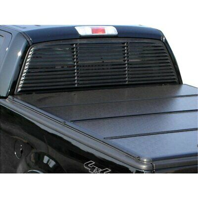 For Dodge Ram 2500 02-07 Rear Window Louver Low Profile Design Textured Surface