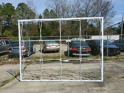 10x8 popup trade show booth / display wall frame. Aluminum. Pop up FREE SHIPPING