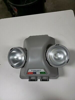 Lithonia Lighting IND618 SEL Indura Industrial Emergency Unit NEW with battery