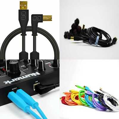 Audio Optimized USB-C to USB-B Cable with 56K Resistor Neon O... Chroma Cables
