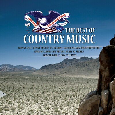 Various Artists : The Best of Country Music CD (2016) FREE Shipping, Save £s