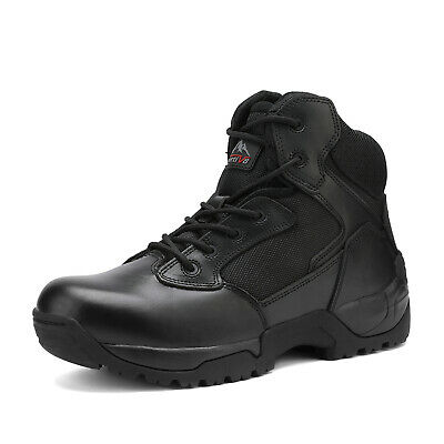 Men's Work Safety Shoes Steel Toe Military Tactical Boots