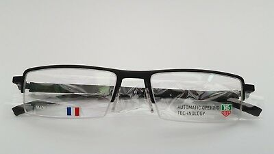 TAG HEUER FRAMES GLASSES IN BLACK - BRAND NEW & UNDER HALF PRICE AT £99.99 ! t5