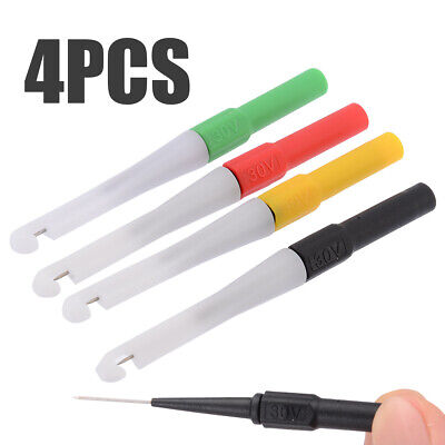 4pcs New Mini Back Probe/Wire Piercer 0.7mm for piercing and tapping 4 Color XY