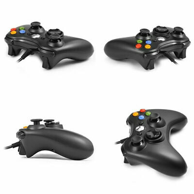 UK USB Wired Game Pad Joypad Gamepad Controller For Microsoft PC Windows 7/8/10