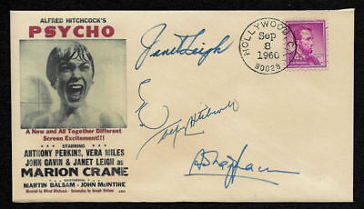 1960 Alfred Hitchcock's Psycho Featured on Ltd. Edition Collector Envelope OP929