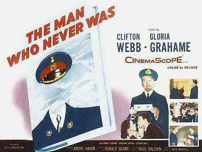 the man who never was 1956 war/drama clifton webb dvd