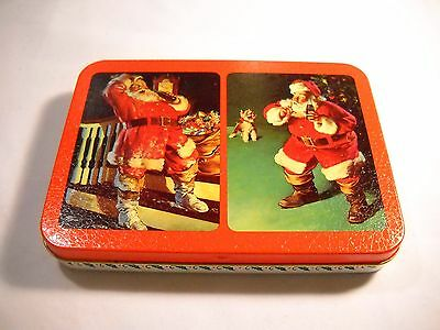 Coca Cola Playing Cards with Santa Clause 1994