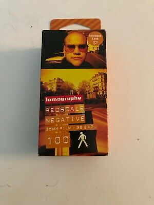 Lomography Red Scale Negative 100 ISO 35mm 3 Pack New!