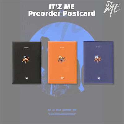 ITZY - IT'Z ME Official Postcard Pre-order Benefit Photocard Photocards