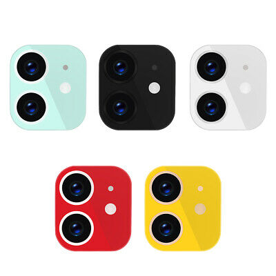 Metal Phone Camera Lens Protective Case for iPhone XR to for iPhone 11 Lens A#S