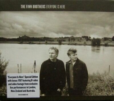 THE FINN BROTHERS everyone is here (CD album & DVD video, limited edition, 2005)