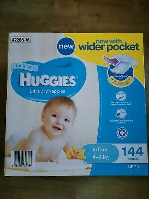 Huggies Nappies for Boys infant
