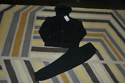 Boys Next Navy Blue Zip Up Hoodie Joggers Suit Size 6 Years Bnwt