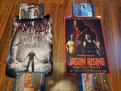 Jason Rising Fan Made Friday the 13th Movie Posters x 2