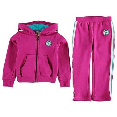 CONVERSE Infant Girls All Star Tracksuit Pink Age 3-6 Months BNWT