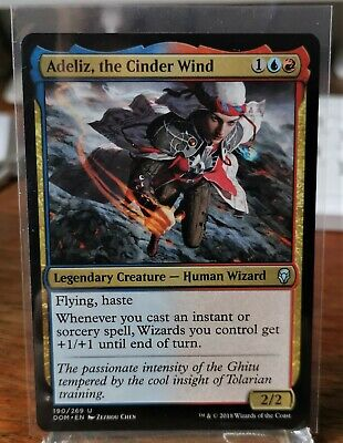 French//VF x2 the Cinder Wind//le vent de cendres MTG Magic DOM - Adeliz