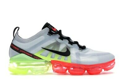 Nike Air Vapormax 2019 AR6631-007 Pure Platinum Running Shoe Size 10 New Mens DS