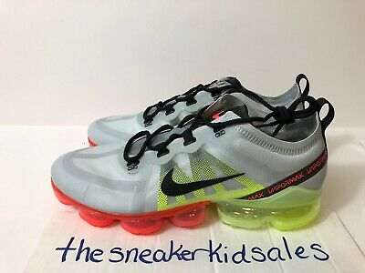 Nike Air Vapormax 2019 AR6631-007 Pure Platinum Running Shoe Size 11 New Mens DS