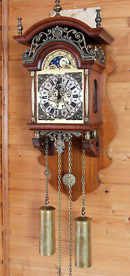 Sallander Dutch Zaanse Wall Clock HERMLE