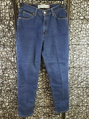 Levi's 512 Red Tab Womens Zipper Fly Classic Slim Tapered Jeans Size 6 S