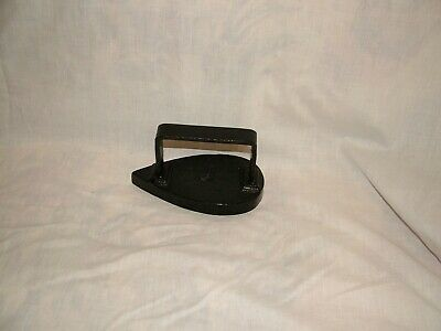 Vintage Flat Iron Door Stop Heavy Weight