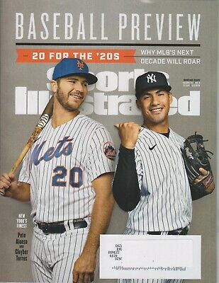 Sports Illustrated Spring 2020 New York's Finest Mets' Pete Alonso and Yankees'