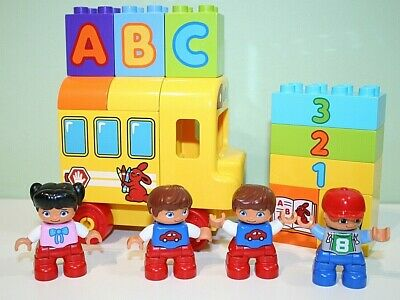 Lego Duplo My First ABC School Bus Children Numbers Letters