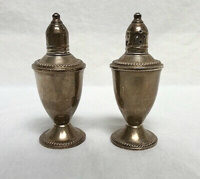 Vintage Duchin Creation Weighted Sterling Silver Salt & Pepper Shakers