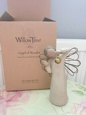 DEMDACO WILLOW TREE Angel Of Wonder Ornament Boxed