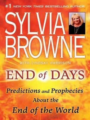 End of Days Predictions and Prophecies End of world Sylvia Browne ✅Fast Delivery