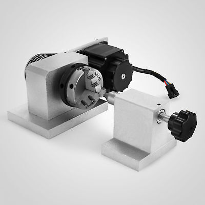 CNC Router Rotational Rotary Axis, A-axis, 4th-axis,3-Jaw