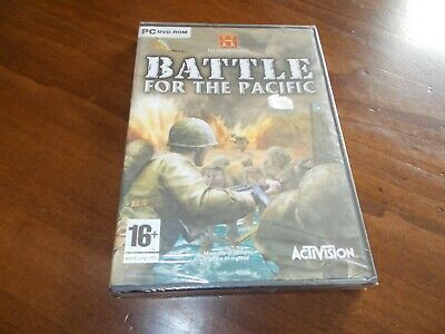 THE HISTORY CHANNEL BATTLE FOR THE PACIF gioco pc game nuovo italiano sigillato
