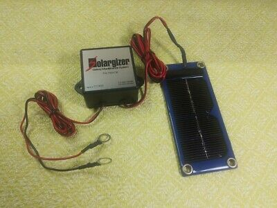 Humvee M998 Pulse Tech Solargizer 24V mdl 735x150 Battery Maintenance system