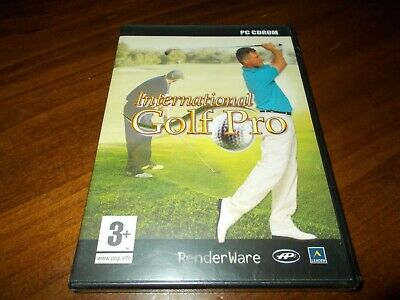 INTERNATIONAL GOLF PRO gioco pc game nuovo italiano sigillato