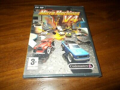 MICRO MACHINES V4 gioco pc game nuovo italiano sigillato