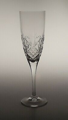 A Royal Doulton  Hellene Crystal Champagne Flute 8 1/4""