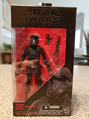 Star Wars - Black Series (6in) - IMPERIAL DEATH TROOPER (#25) - New - 2016