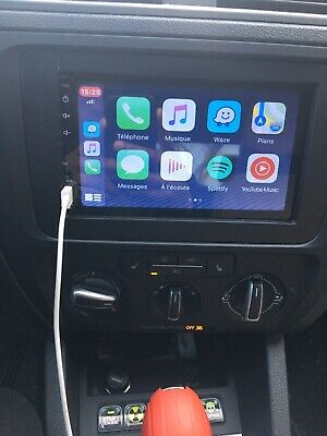 "Apple Carplay + auto radio  Car Stereo Bluetooth Touch 7"" 2DIN"