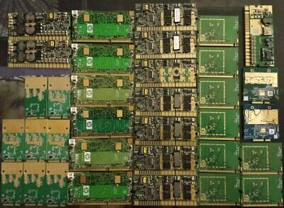 Gold plated computer boards for scrap recovery
